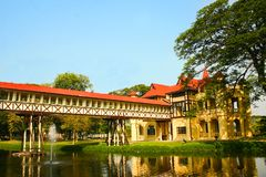 Sanam Chan Palace royalty free stock images