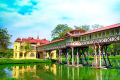 Sanam Chan Palace of Thailand, Nakhon pathom Royalty Free Stock Image