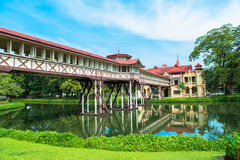 Sanam Chandra Palace, European castle style, of King Rama VI in Nakhon Pathom, Thailand Stock Photography