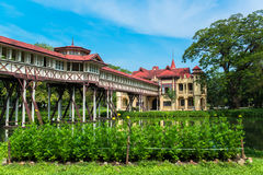 Sanam Chandra Palace, European castle style, of King Rama VI in Nakhon Pathom, Thailand Stock Photo