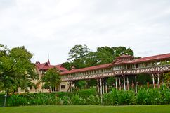 Sanam Chandra Palace. Nakhon Pathom Province, Thailand. H.M. King Rama VI granted the name of this palace Stock Photo