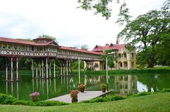 Sanam Chandra Palace. Nakhon Pathom Province, Thailand. H.M. King Rama VI granted the name of this palace Stock Image