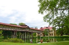 Sanam Chandra Palace. Nakhon Pathom Province, Thailand. H.M. King Rama VI granted the name of this palace Stock Photos