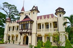 Sanam Chandra Palace. Nakhon Pathom Province, Thailand. H.M. King Rama VI granted the name of this palace Stock Photography