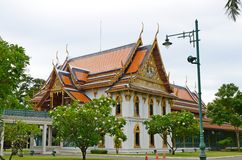 Sanam Chandra Palace. Nakhon Pathom Province, Thailand. H.M. King Rama VI granted the name of this palace Royalty Free Stock Photography