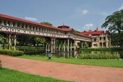 Sanam Chandra Palace Thailand Arkivbilder