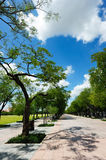 Sanam Luang (The Royal Field) in Bangkok, Thailand Stock Photo