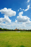 Sanam Luang (The Royal Field) in Bangkok, Thailand Stock Image