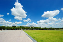 Sanam Luang (The Royal Field) in Bangkok, Thailand Stock Photography