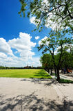 Sanam Luang (The Royal Field) in Bangkok, Thailand Royalty Free Stock Images