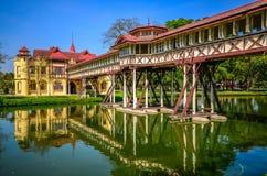 Sanamchan Palace in Nakornpathom, Thailand. NAKORNPATHOM, THAILAND - FEBRUARY 9, Sanamchan Palace on February 9, 2024 in Nakornpathom, Thailand. The palace, the Stock Photos