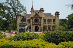 SanamJan palace, an attraction tourist place in Nakornpathom Stock Image