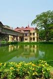 SanamJan palace, Nakornpathom, Thailand. SanamJan palace, an attraction tourist place in Nakornpathom, Thailand. It used to be a palace of King Rama VI stock photo