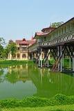 SanamJan palace, Nakornpathom, Thailand. SanamJan palace, an attraction tourist place in Nakornpathom, Thailand. It used to be a palace of King Rama VI Royalty Free Stock Photography