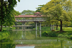 SanamJan palace, Nakornpathom, Thailand. Stock Photography