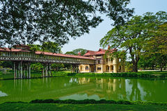SanamJan-Palast, Nakornpathom, Thailand. lizenzfreie stockfotos