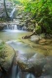 Sanang manora瀑布, Phang Nga,泰国 免版税库存照片