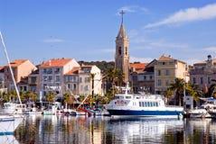 sanary france port Royaltyfria Bilder