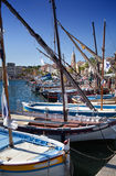 Sanary harbor on the Cote dAzur, Provence, France Royalty Free Stock Photo
