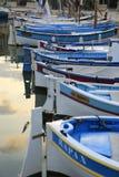 Sanary sur梅尔港口  库存照片