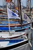 Sanary sur Mer, France - april 20 2016 : the picturesque city stock image