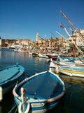 Sanary sur Mer, Frankrijk Stock Foto's