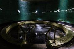 Sanatório abandonado Fotos de Stock Royalty Free