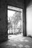 Sanatorio abandonado Imagen de archivo libre de regalías