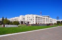 Sanatorio clinico militare centrale di Marfinsky Regione di Mosca, Russia Immagine Stock Libera da Diritti