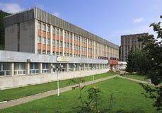 Sanatorium Altai Castle in the resort Belokurikha Stock Photo