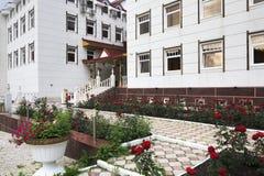 Sanatorium Altai Crown. Royalty Free Stock Photo