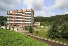 Sanatorium Altai-West in the resort Belokurikha Royalty Free Stock Images
