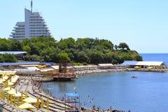 Sanatorium beach Royalty Free Stock Photo