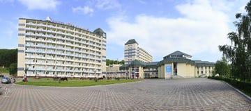 Sanatorium Belokuriha on the same resort Royalty Free Stock Photo
