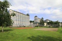 Sanatorium Belokuriha on the same resort Stock Image