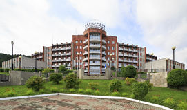 Sanatorium Health Resort Kuzbass resort Royalty Free Stock Images