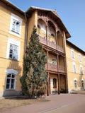 Sanatorium house, Naleczow, Poland Stock Images