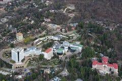 Sanatorium JSC Gazprom Royalty Free Stock Images