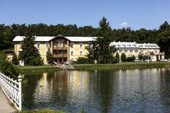 Sanatorium No. 1 in Naleczow, Poland Royalty Free Stock Photography