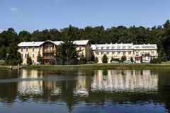 Sanatorium No. 1 in Naleczow in Poland Royalty Free Stock Photography