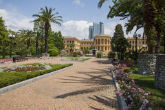 Sanatorium paths Royalty Free Stock Image