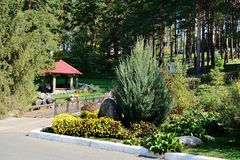 Sanatorium Russland Lizenzfreies Stockbild