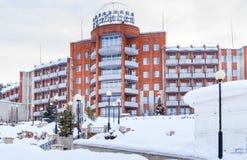 SanatoriumKuuroord Kuzbass Belokurikha, Altai stock foto