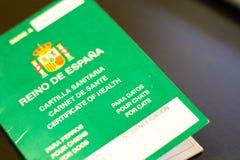 Sanatoriums de Cartilla animaux images stock