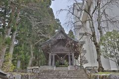 The area of Rinnoji Temple at 2016 Stock Photography