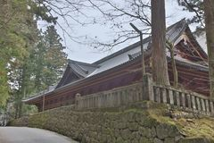 The area of Rinnoji Temple at 2016 Royalty Free Stock Image