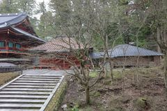 The area of Rinnoji Temple at 2016 Royalty Free Stock Images