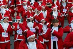 Sanca Claus race-2 Photographie stock libre de droits