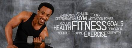 Séance d'entraînement de forme physique Photos stock