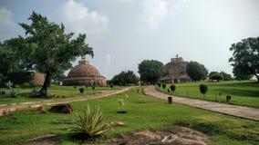 Sanchi stupa Arkivbilder